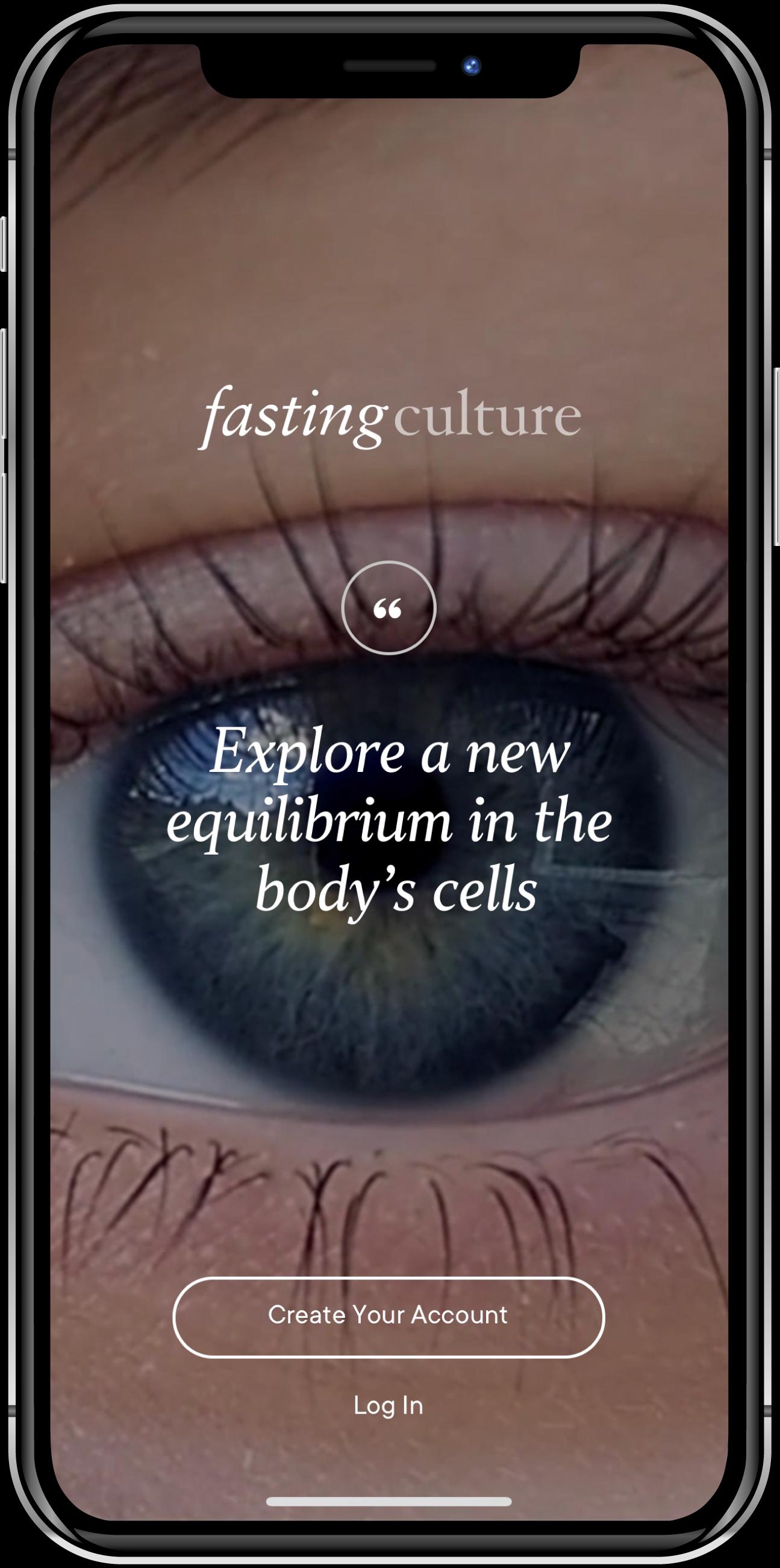 Fasting Culture App - Login