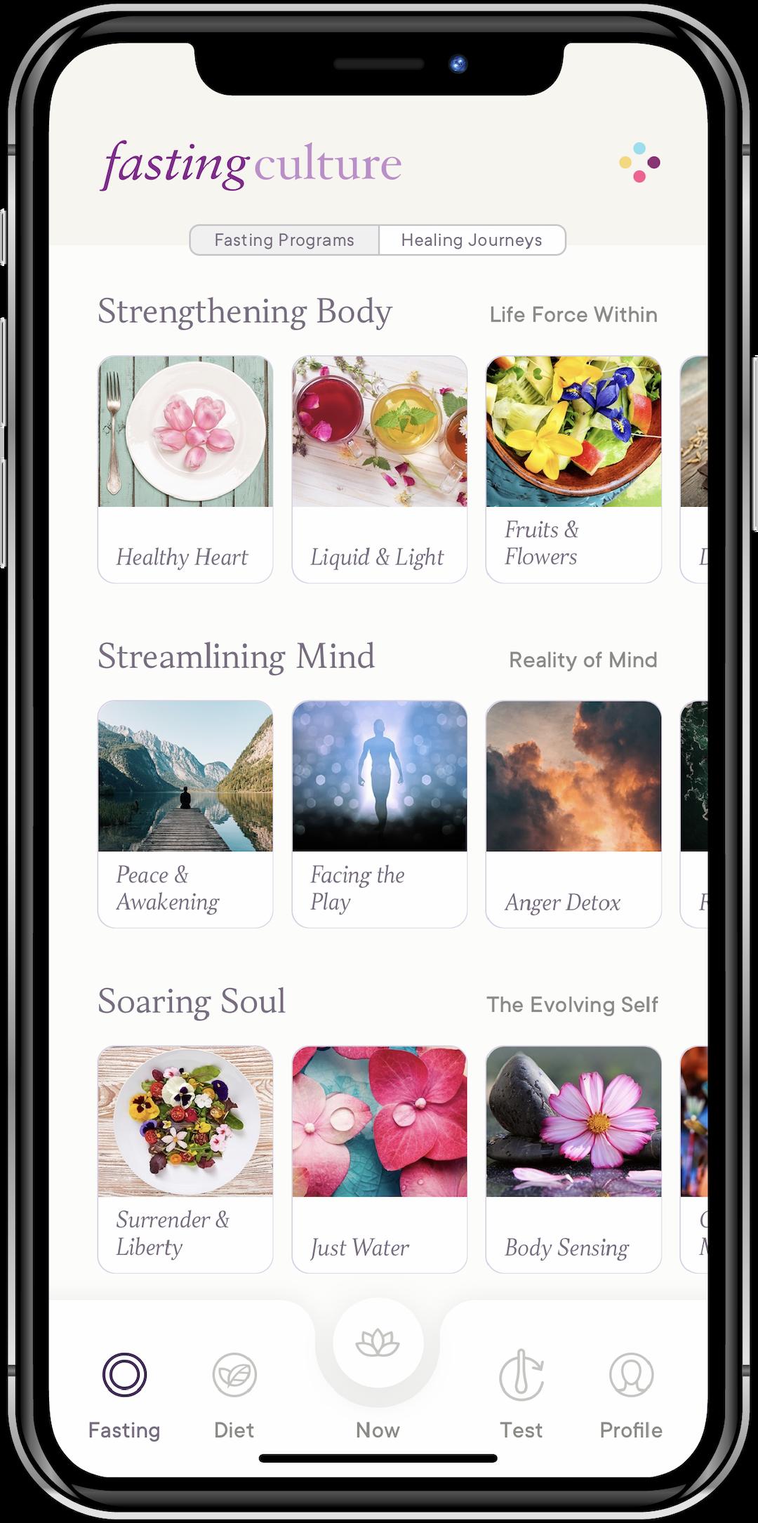 Fasting Culture App - Programs
