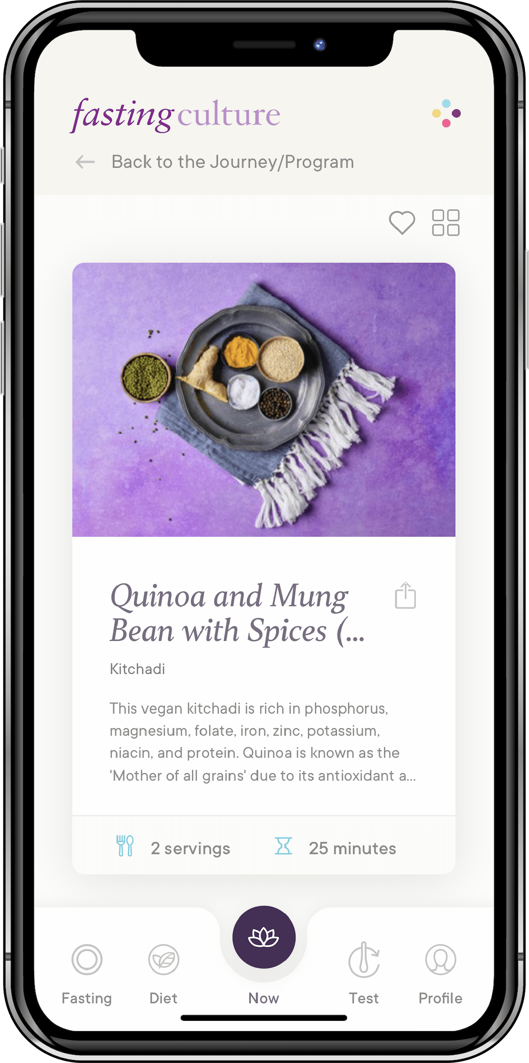 Fasting Culture App - Plant Based Recipes